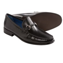 Florsheim Sarasota Bit Loafers (For Men) in Black Smooth - Closeouts