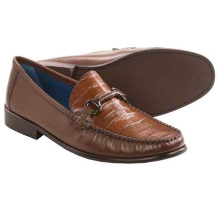 Florsheim Sarasota Bit Loafers - Leather  (For Men) in Cognac - Closeouts