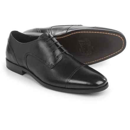 Florsheim Stance Oxford Shoes - Leather, Cap Toe (For Men) in Black - Closeouts