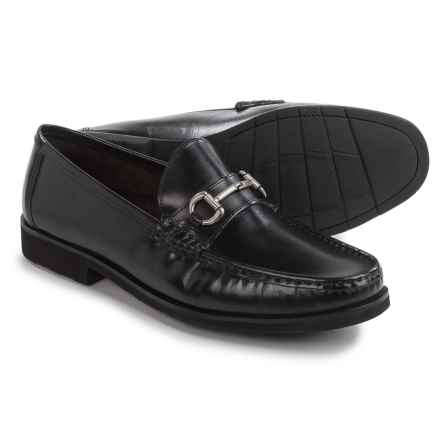 Florsheim Tuscany Bit Loafers - Leather (For Men) in Black - Closeouts