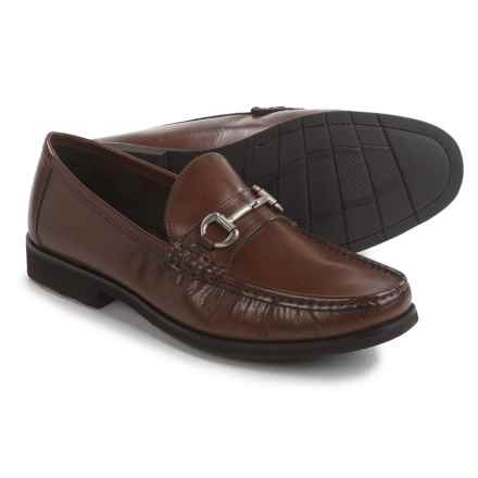 Florsheim Tuscany Bit Loafers - Leather (For Men) in Cognac - Closeouts
