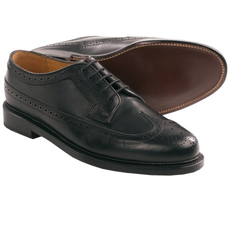 Florsheim Veblen Wingtip Shoes (For Men) in Black
