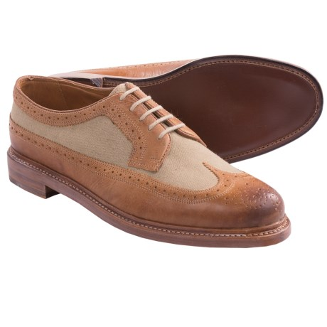 Florsheim Veblen Wingtip Shoes (For Men) in Camel Multi