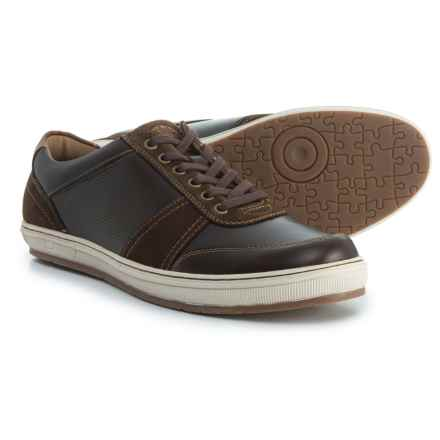 Florsheim Venue Moc-Toe Lace-Up Sneakers - Leather (For Men) in Brown - Closeouts