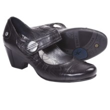 Fluchos Jeny Leather Shoes - Mary Janes (For Women) in Black - Closeouts