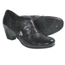 Fluchos Jeny Leather Shoes - Slip-Ons (For Women) in Black - Closeouts