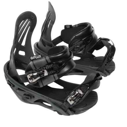 Flux RL Snowboard Bindings in Matte Black - Closeouts