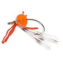 Fly H20 by Umpqua Bubble Crab Saltwater Fly - Dozen in Bonefish Orange - Closeouts