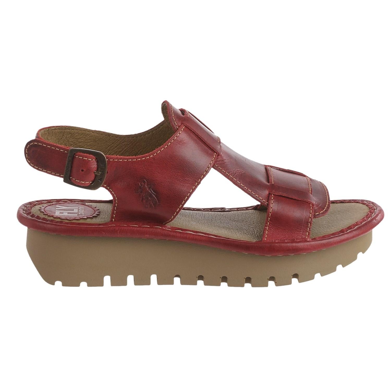 fly london kani sandals for women save 70. Black Bedroom Furniture Sets. Home Design Ideas