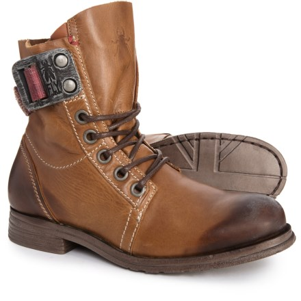 cb21300aae22 Fly London Made in Portugal Stay Boots - Leather (For Women) in Camel -