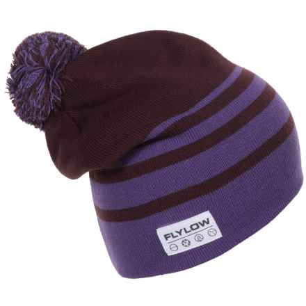 Flylow 2016 Stardust Beanie (For Women) in Plum/Lilac - Closeouts