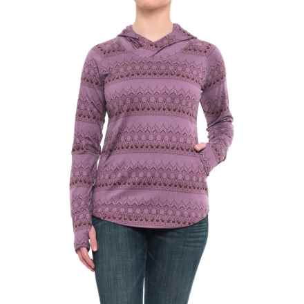Flylow Anna Hoodie - UPF 50+ (For Women) in Thistle - Closeouts