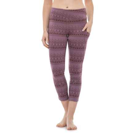 Flylow Bailey Leggings - UPF 50+ (For Women) in Thistle - Closeouts