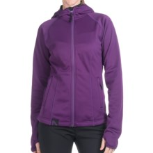 Flylow Bonnie Hooded Jacket- Soft Shell (For Women) in Purple - Closeouts