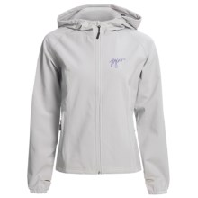 Flylow Bonnie Ski Jacket - Soft Shell (For Women) in Grey - Closeouts