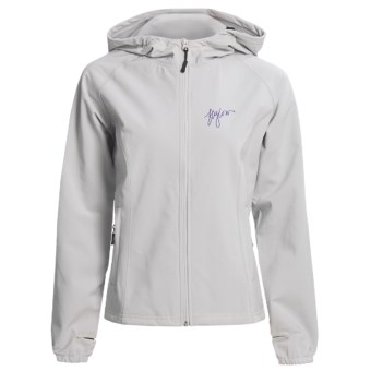 Flylow Bonnie Ski Jacket - Soft Shell (For Women) in Grey