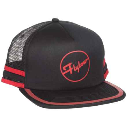 Flylow Cheetah Trucker Hat (For Women) in Black - Closeouts