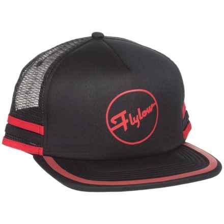 Flylow Cheetah Trucker Hat (For Women) in Black - Closeouts