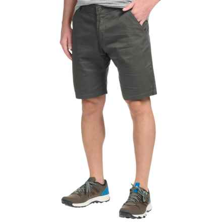 Flylow Dacker Chino Shorts - Cotton Blend (For Men) in Coal - Closeouts