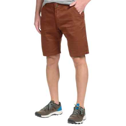 Flylow Dacker Chino Shorts - Cotton Blend (For Men) in Redwood - Closeouts