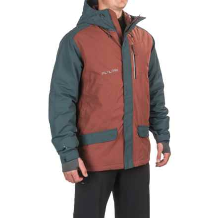 Flylow Gear Roswell Ski Jacket - Insulated (For Men) in Bareleywine/Night - Closeouts