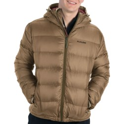 Flylow General's Down Hooded Jacket - 850 Fill Power (For Men) in Camel
