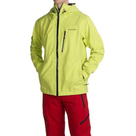 Flylow Higgins Ski Jacket - Waterproof (For Men) in Sulphur - Closeouts