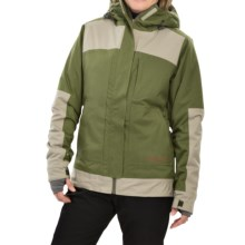Flylow Jane Ski Jacket - Insulated (For Women) in Clay/Olive - Closeouts