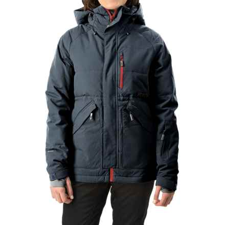 Flylow Jody Down Ski Jacket - Waterproof, 600 Fill Power (For Women) in Night - Closeouts