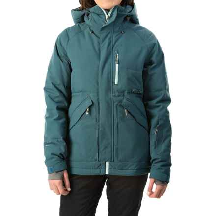 Flylow Jody Down Ski Jacket - Waterproof, 600 Fill Power (For Women) in Storm - Closeouts