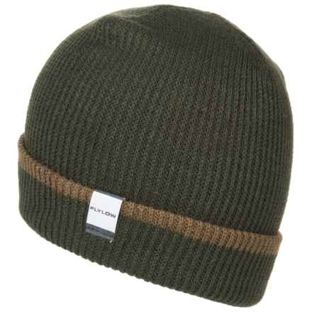 Flylow Longshoreman Beanie Hat (For Men and Women) in Military/Stone - Closeouts