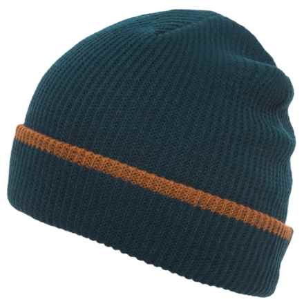 Flylow Longshoreman Beanie Hat (For Men and Women) in Night/Sepia - Closeouts
