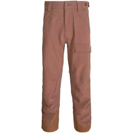 Flylow Magnum Pro Ski Pants - Waterproof (For Men) in Bark - Closeouts