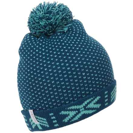 Flylow Nova Beanie (For Women) in Ocean/Mermaid - Closeouts