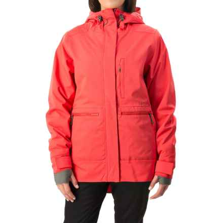 Flylow Phoebe Ski Jacket - Waterproof, Insulated (For Women) in Tropical Red - Closeouts
