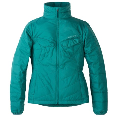 Flylow Piper Jacket - Insulated (For Women) in Algae