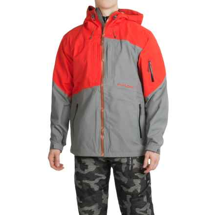Flylow Quantum Pro Ski Jacket - Waterproof (For Men) in Grey/Fire - Closeouts