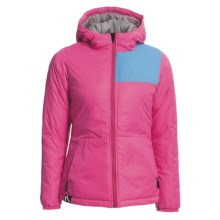 Flylow Queen Hooded Jacket - Insulated (For Women) in Magenta - Closeouts
