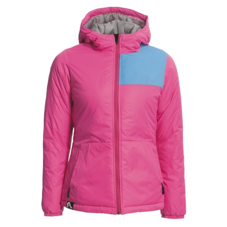 Flylow Queen Hooded Jacket - Insulated (For Women) in Magenta