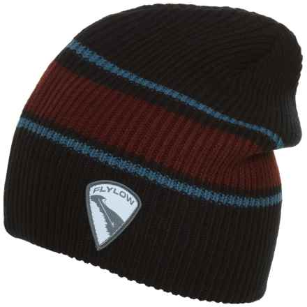 Flylow Rooster Beanie (For Women) in Black/Barleywine/Steel - Closeouts