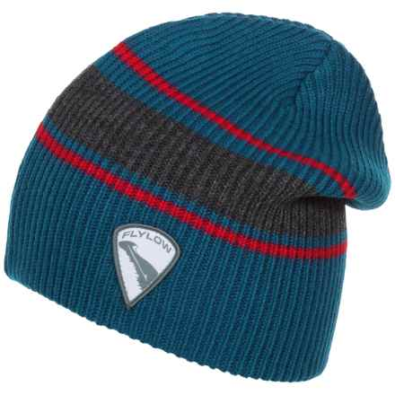 Flylow Rooster Beanie (For Women) in Ocean/Coal/Jam - Closeouts