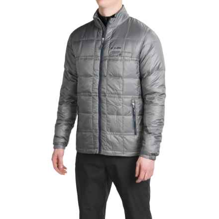 Flylow Rudolph Down Jacket - 800 Fill Power (For Men) in Grey - Closeouts