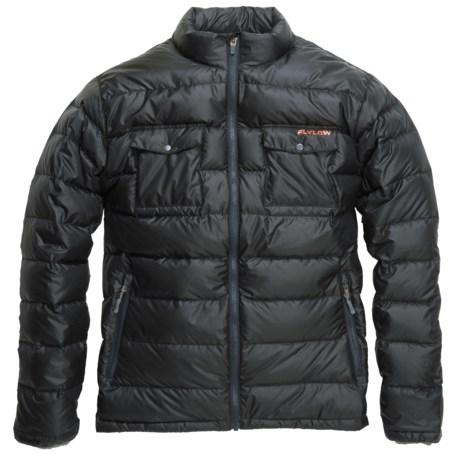 Flylow Rudolph Down Jacket - 850 Fill Power (For Men) in Black