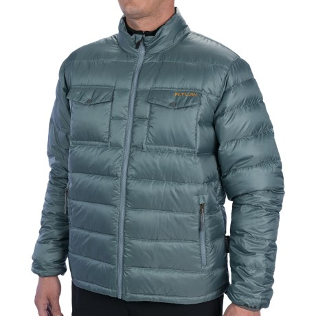 Flylow Rudolph Down Jacket - 850 Fill Power (For Men) in Black