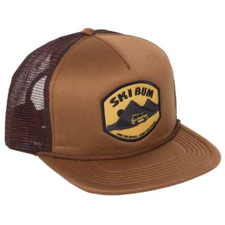 Flylow Ski Bum Trucker Hat (For Men) in Sepia - Closeouts