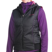Flylow Smuggler Vest - Insulated (For Women) in Black/Magenta - Closeouts
