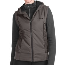 Flylow Smuggler Vest - Insulated (For Women) in Pewter/Black - Closeouts