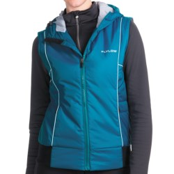 Flylow Smuggler Vest - Insulated (For Women) in Navy/Tulip