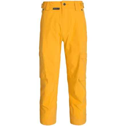 Flylow Stash Ski Pants - Waterproof (For Men) in Sunset - Closeouts