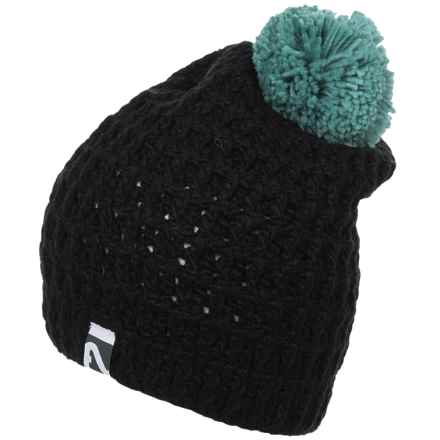 Flylow Sunnyside Beanie (For Women) in Black/Mermaid - Closeouts